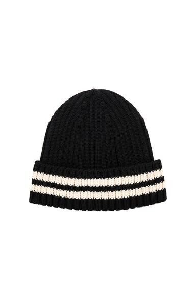 Wool Rib Beanie