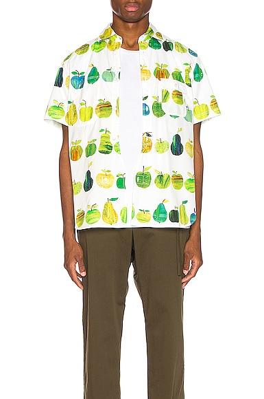 Print Pocket Shirt