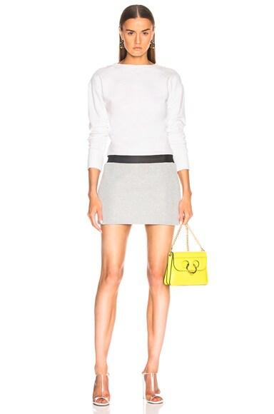Jersey And Lurex Mini Dress