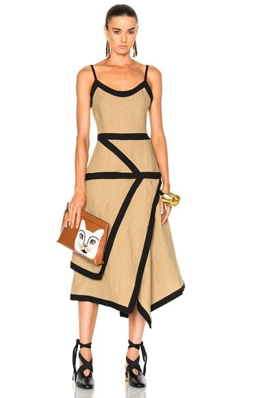 Contrast Cami Dress