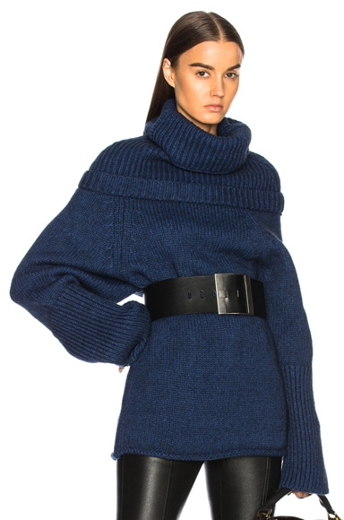Mock Neck Knit Top