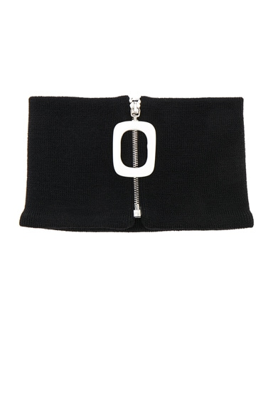 Zip Detail Neckband by Jw Anderson