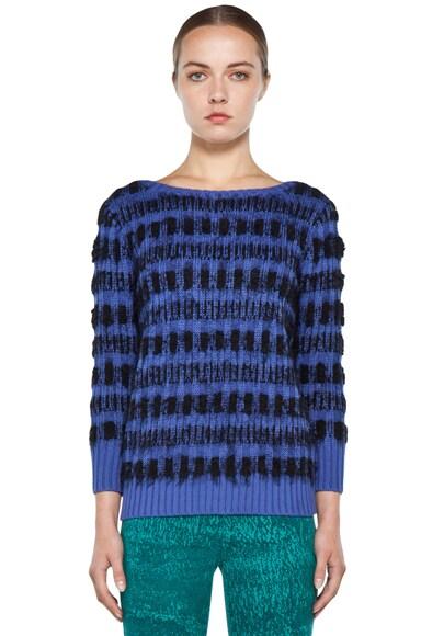 Eyelash Echo Sweater