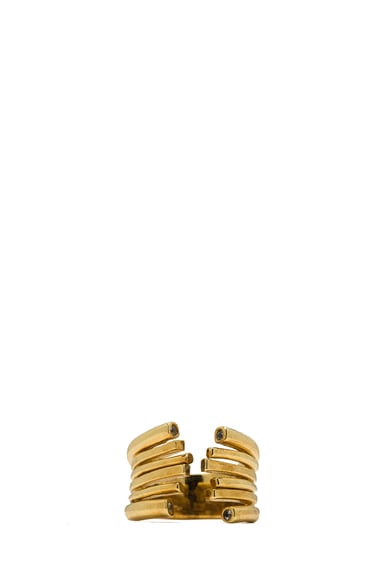 Fulham Plated Brass Ring