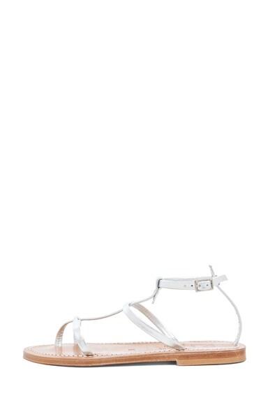Gina Calfskin Gladiator Sandal
