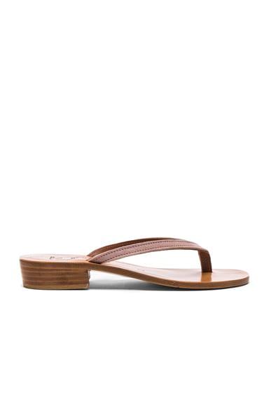 Suede Prato Sandals