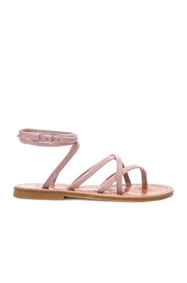 Suede Zenobie Sandals