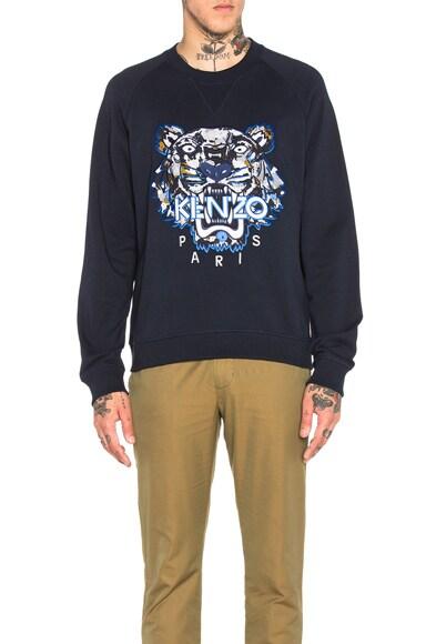 Moon Map Tiger Sweatshirt