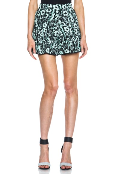 Daisy Flower Poly Shorts