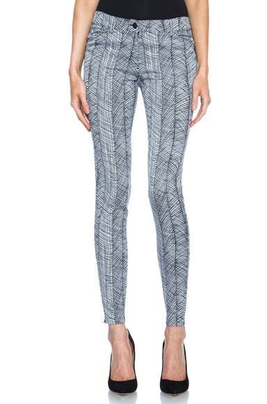 Graphic Curtain Pants