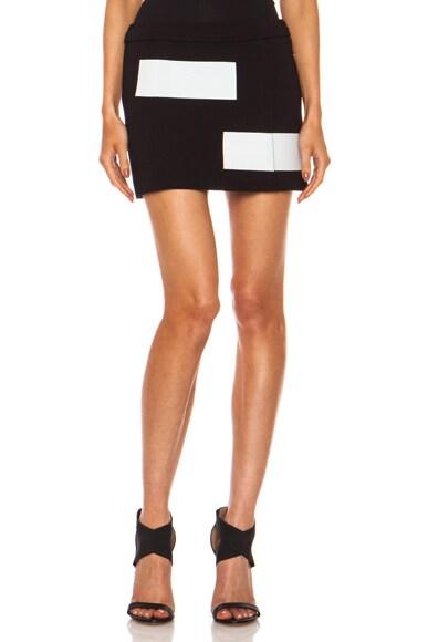 Triacetate-Blend Skirt