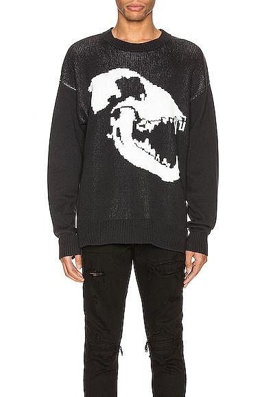 Canine Skull Sweater