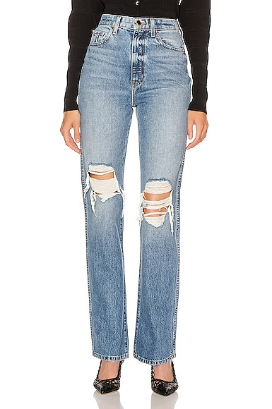 Danielle High Rise Stovepipe Jean