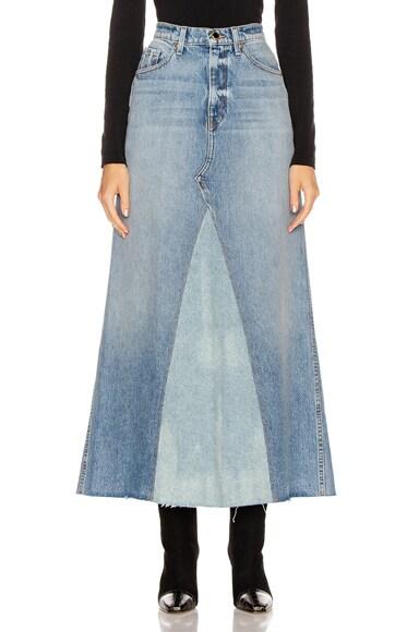 Magdalena Reconstructed Long Skirt
