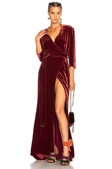 Rosalind Wrap Dress