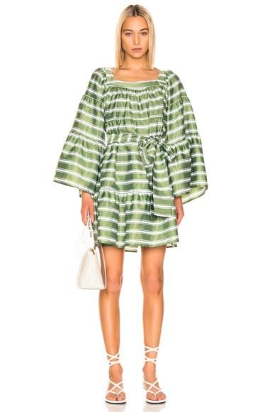 Mini Peasant Dress