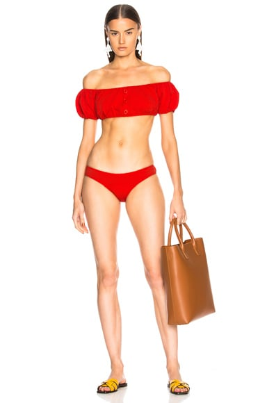 Leandra Seersucker Bikini Set