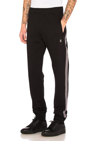 Fleece Grosgrain Slim Pant