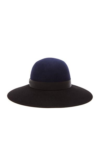 Bi Color Capeline Hat