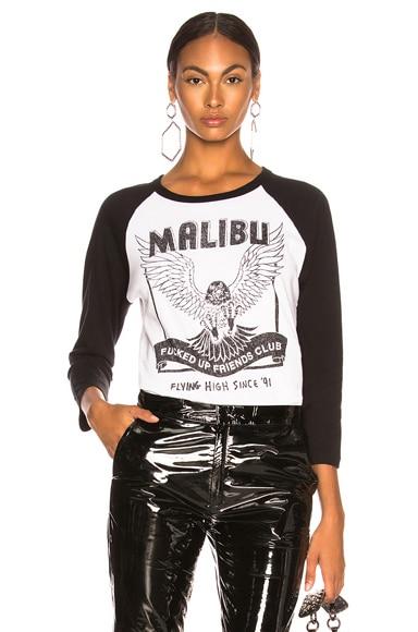 Malibu FUFC Raglan Top