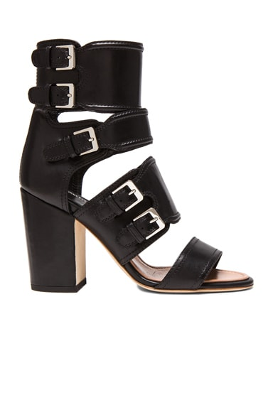 Hadeli Calfskin Leather Heels
