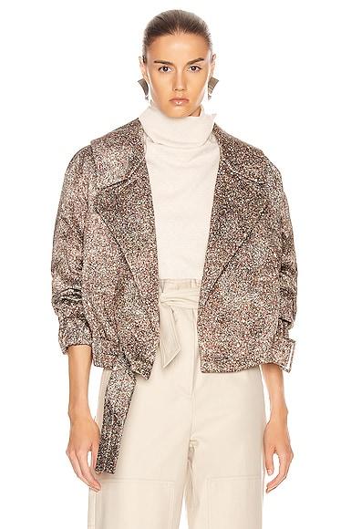 Stone Print Jacket