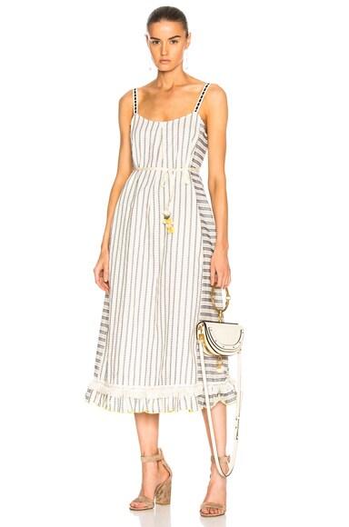 Ami Fringe Maxi Dress