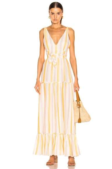 Zeritu S/L Tiered Maxi Dress