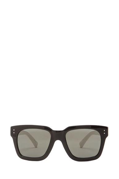 D Frame Snake Embossed Sunglasses