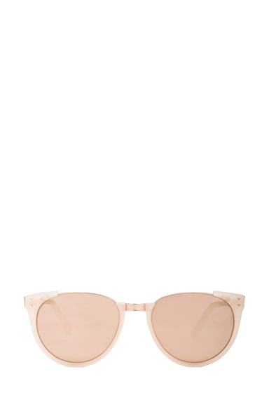 Round Horned Sunglasses