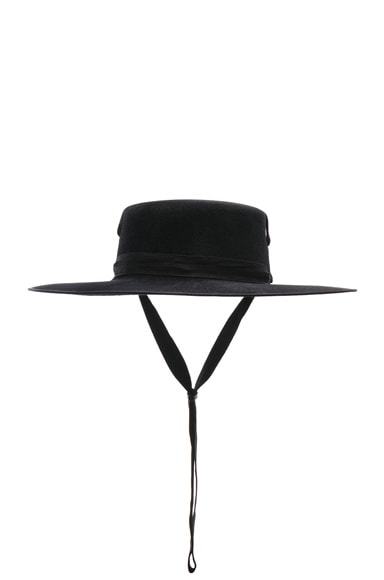 Winter Zorro Hat