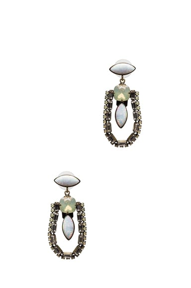 Annie Antique Plated Earrings