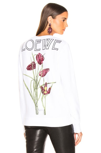 Logo Botanical Sweatshirt