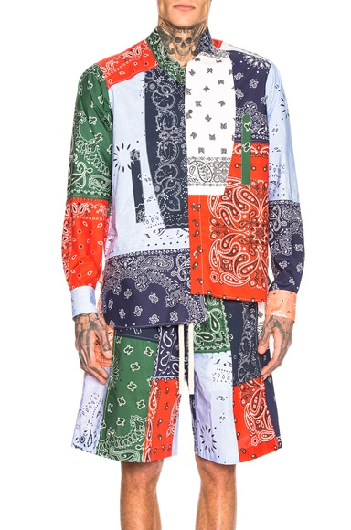 Bandana Patchwork Shirt