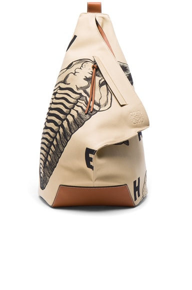 Fossil Print Anton Backpack