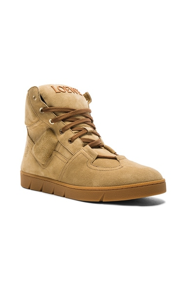 Suede High Sneakers