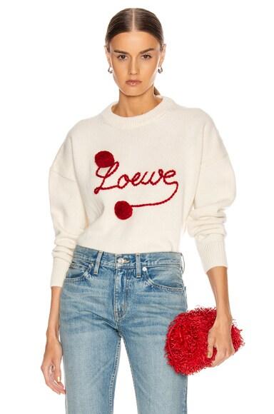 Pompom Loewe Sweater