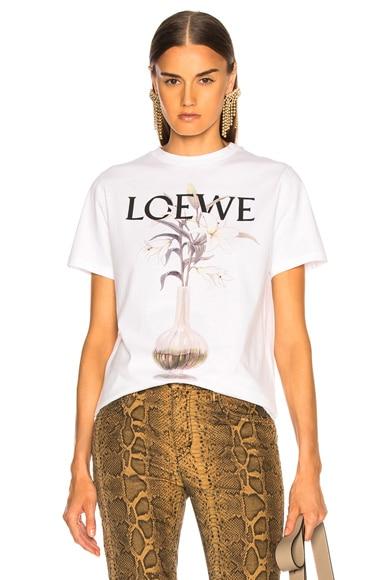 Flower & Vase T Shirt