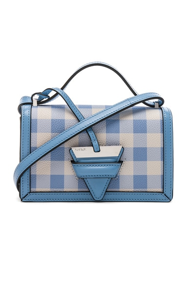 Gingham Small Barcelona Bag