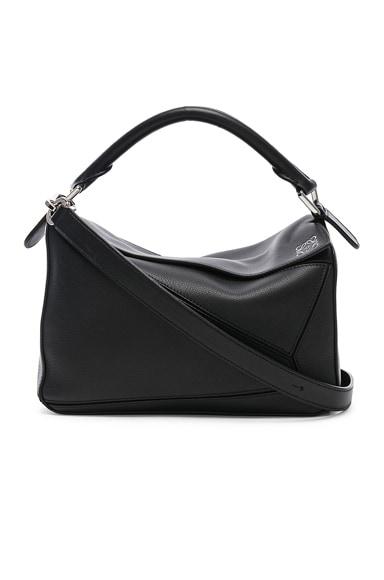 Loewe Puzzle Small Bag in Black