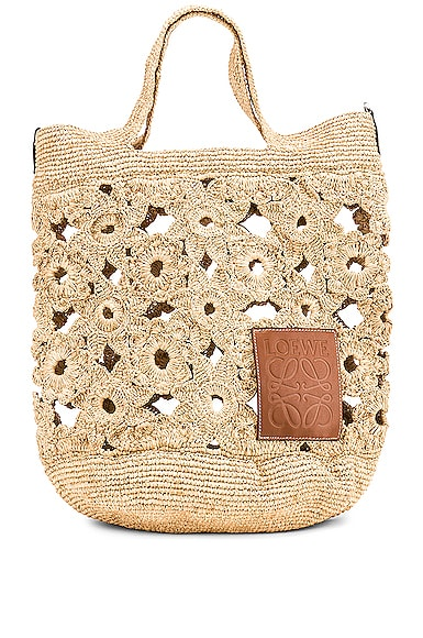 Slit Crochet Bag