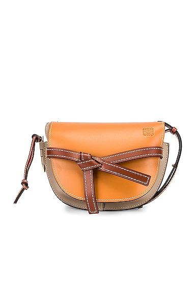 Loewe Gate Small Bag in Brown,Neutral,Gray