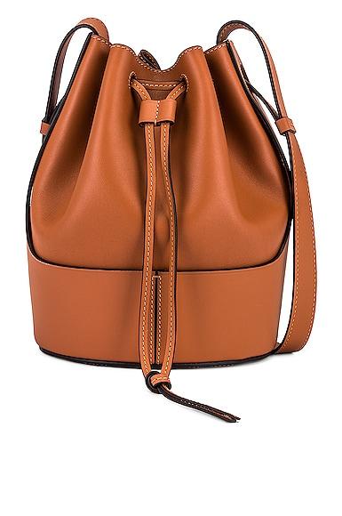 Loewe Balloon Small Bag in Brown