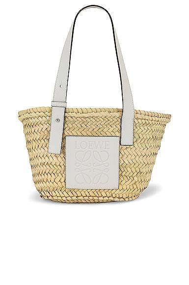 Loewe Basket Small Bag in Neutral