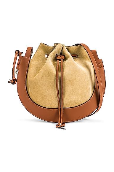 Loewe Horseshoe Bag in Brown,Neutral