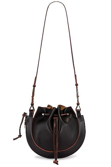 Loewe Horseshoe Bag in Black