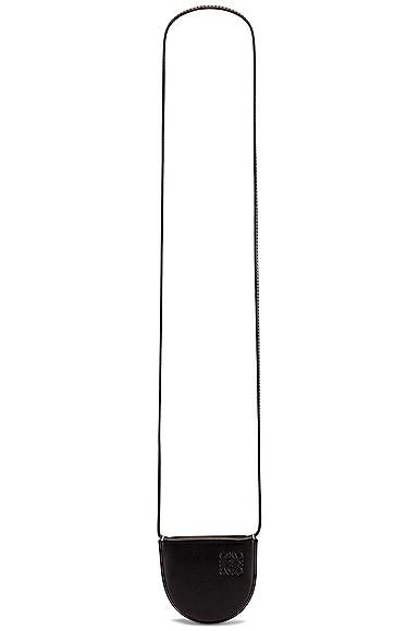 Loewe Heel Mini Pouch Bag in Black