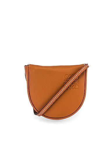 Loewe Heel Mini Pouch Bag in Brown