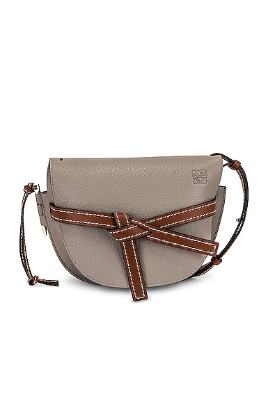 Loewe Gate Small Bag in Gray