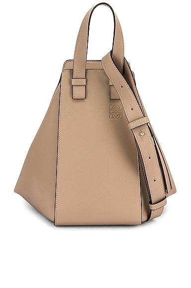 Loewe Hammock Small Bag in Gray